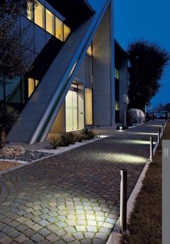 Lampioncini alluminio design moderno
