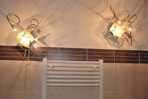 Applique moderna da bagno