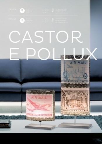 Lampada Castor e Pollux