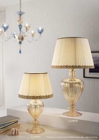 Lampade da tavolo vetro Murano