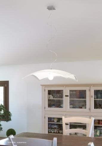 Applique plafoniera vetro elegante