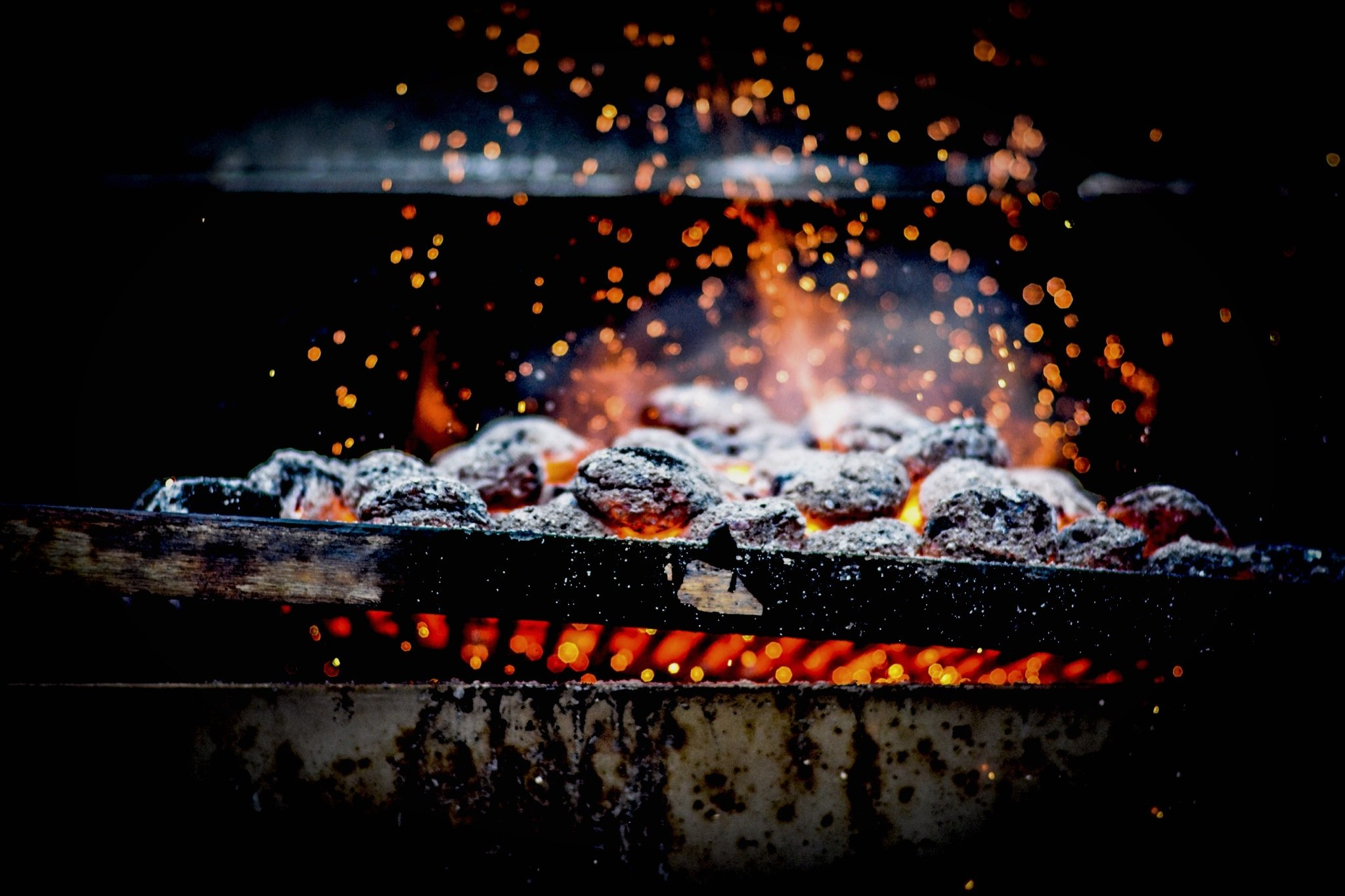 roasted charcoal