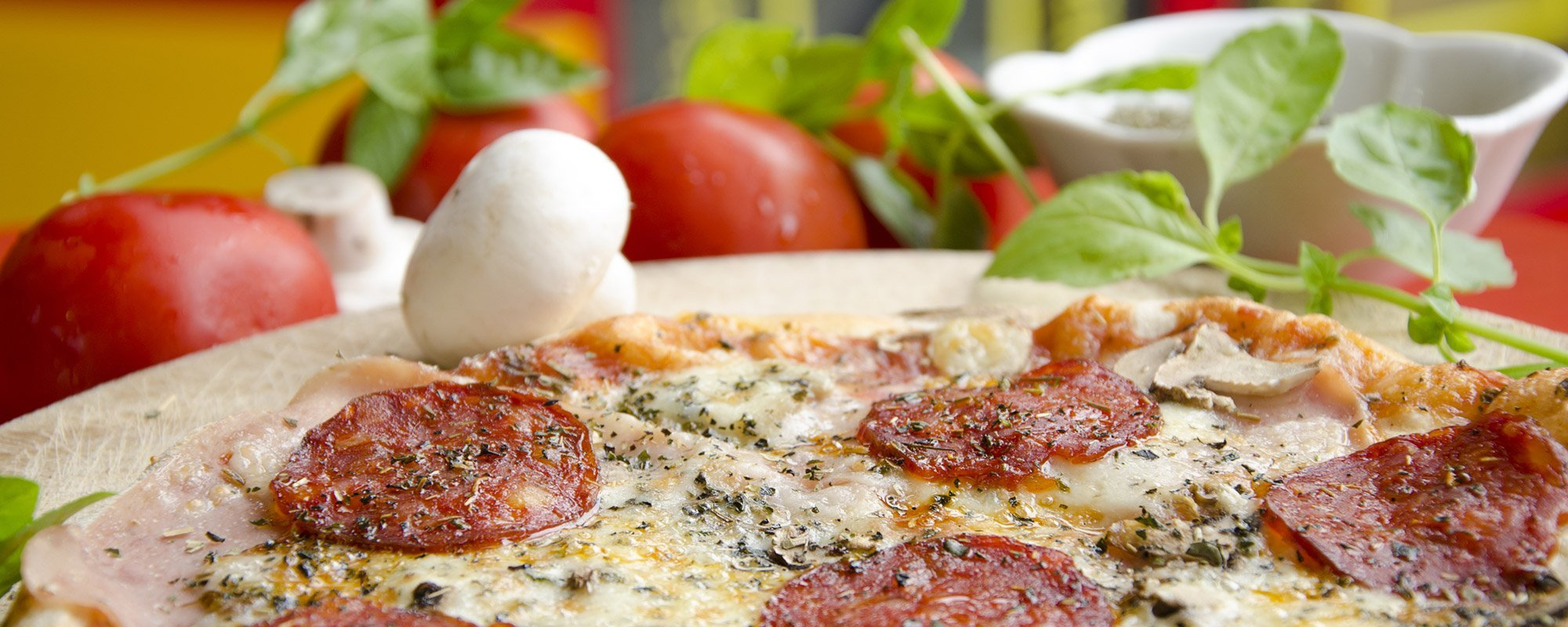 Pizza margherita a Pinerolo