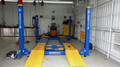 j and d auto electrical shed