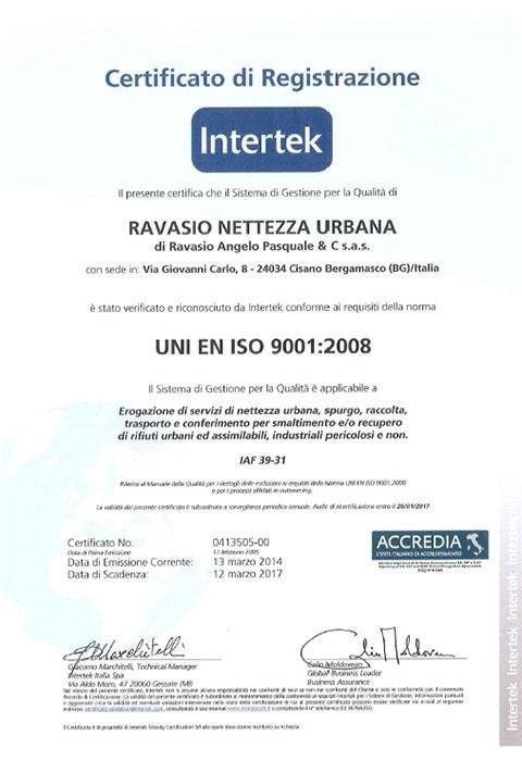 servizi certificati