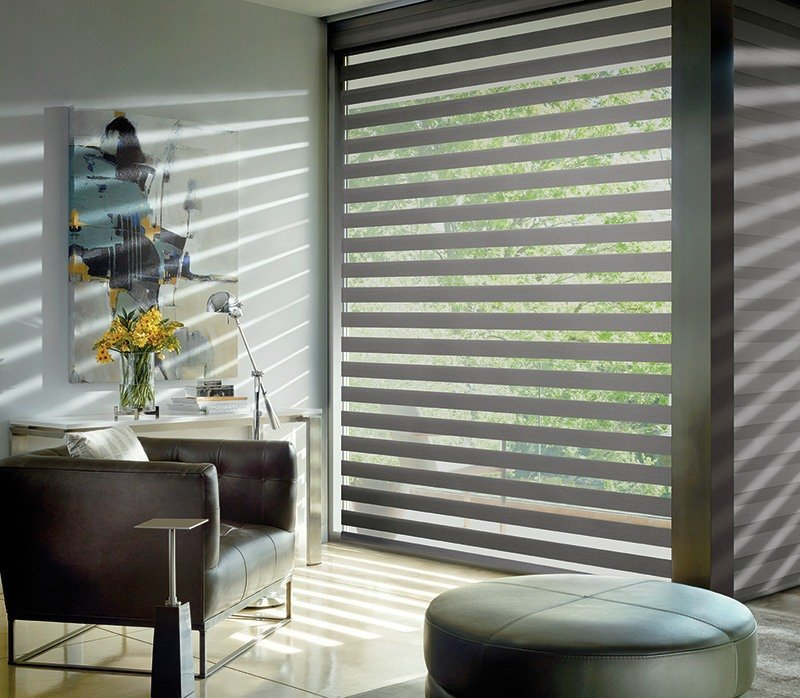 ashton the hunter shade designer collection fabric screen in douglas blinds douglass