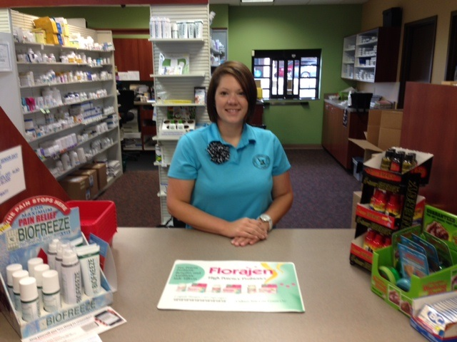 Sarah - Staff - Jeff's Prescription Shop