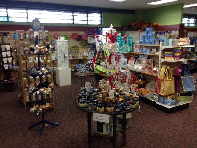 Medicinal jars and gifts at Jeff's Prescription Shop