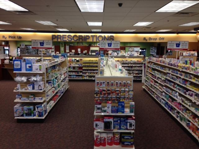 Aisle of Jeff's Prescription Shop