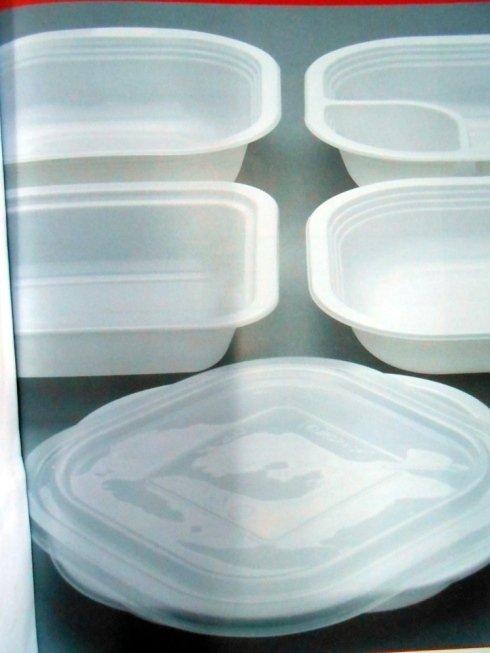 Contenitori trasparenti per alimenti