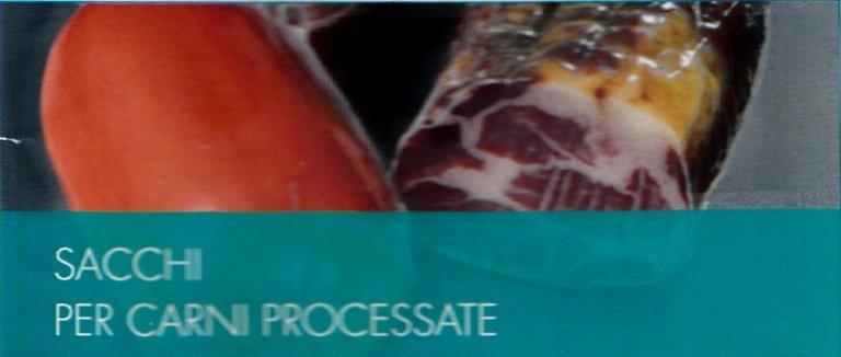 sacchi per carni processate