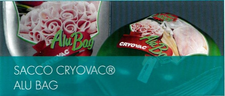 sacco cryovac alu bag