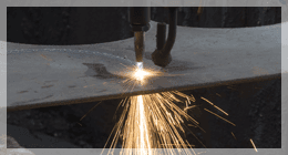 taglio laser lamiere metalliche