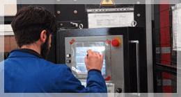 lavorazione metalli taglio laser