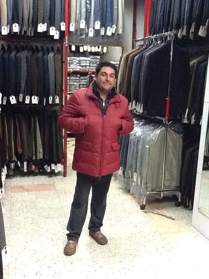 giacca imbottita vari colori