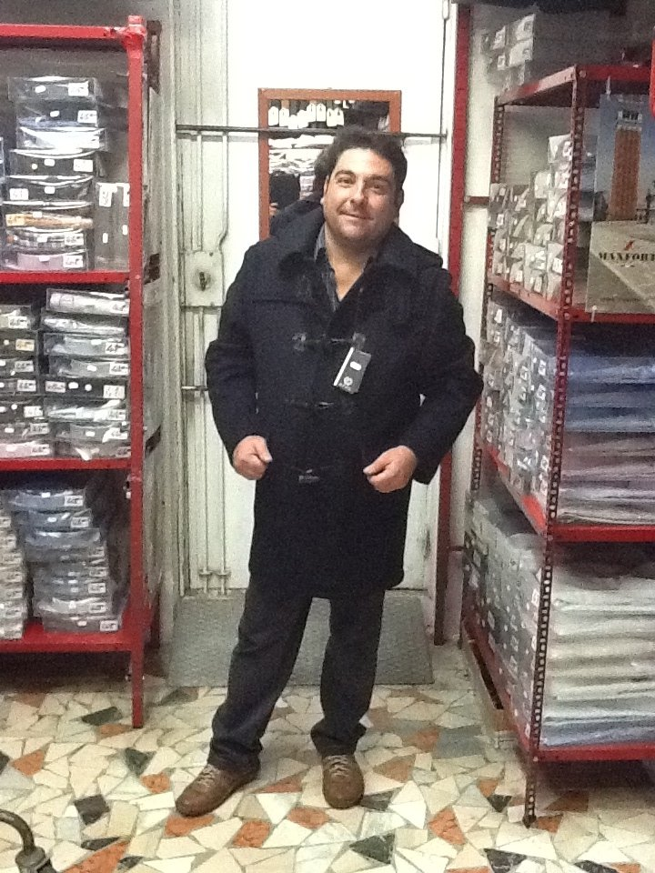 cappotto uomo con alamari taglie forit