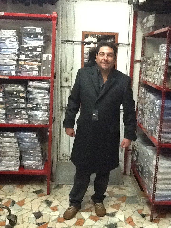 cappotto elegante uomo taglie forti