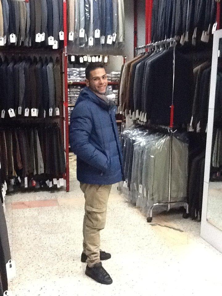 giaccone imbottito con cappuccio vari colori