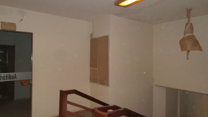 after ceiling decoration