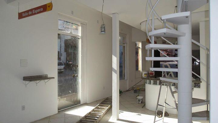 building interior work