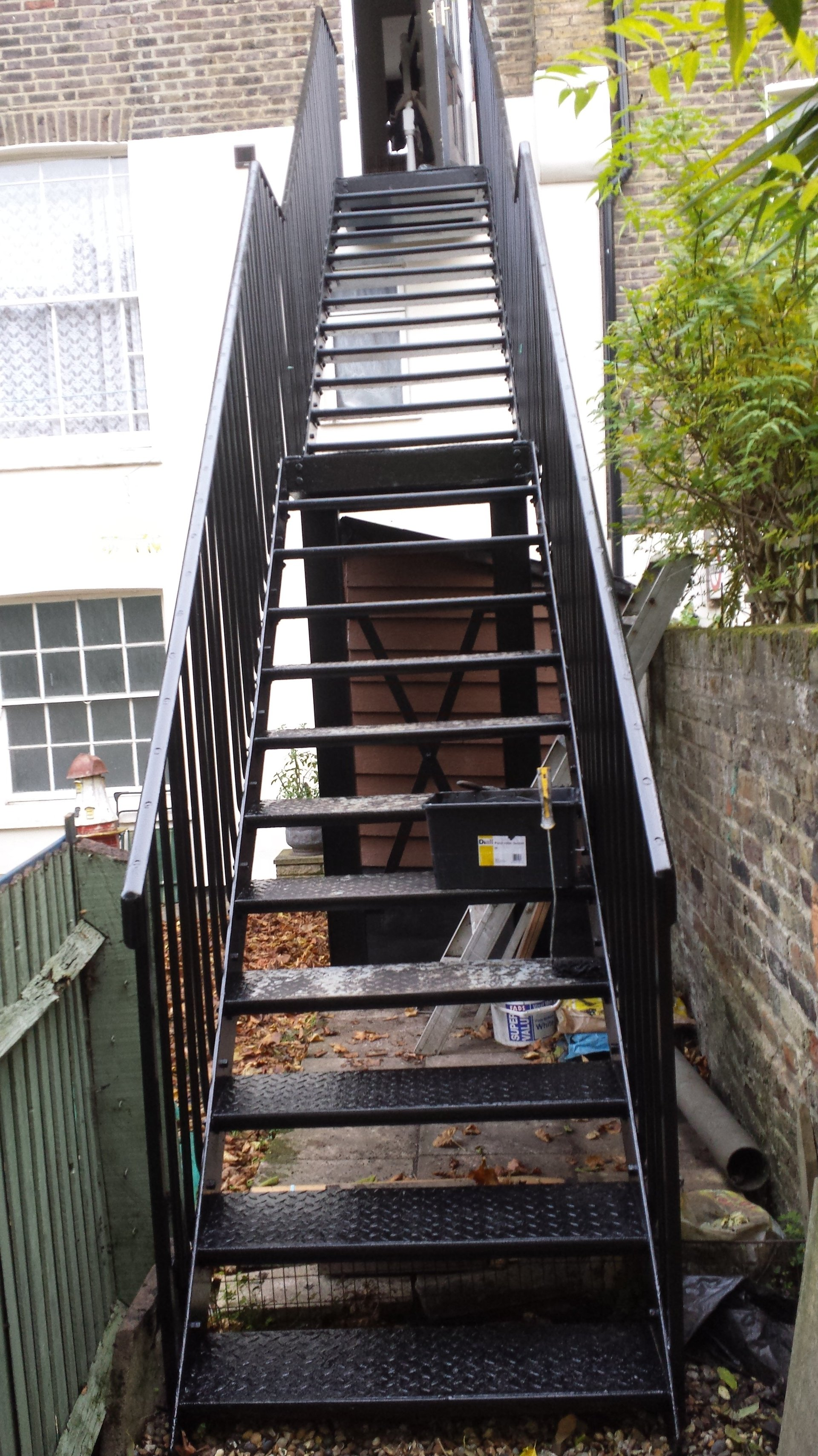 refurbished stairs