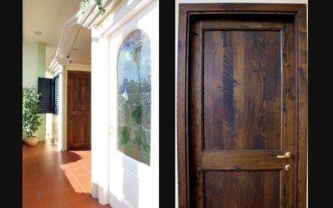 porte in legno alluminio