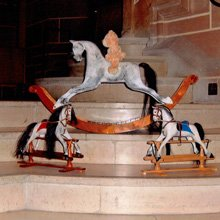Handcrafted rocking horses - Woodlove & Lovewood - Little Princess