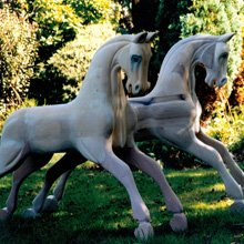 Rocking horse gallery - Woodlove & Lovewood - Twins