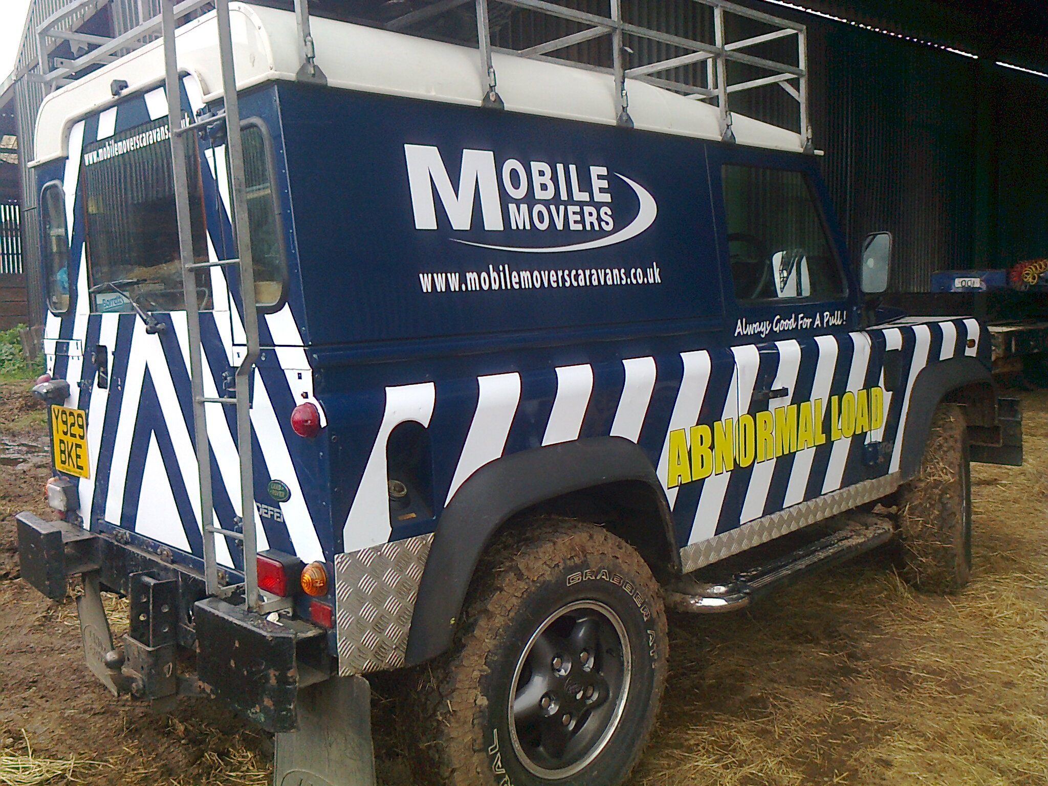 mobile movers landrover