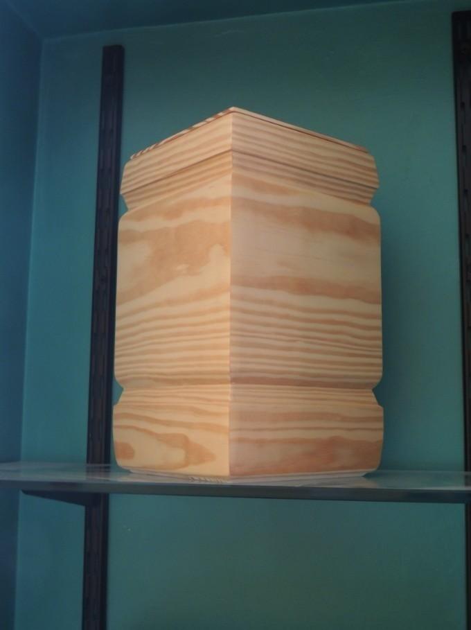 urna in legno