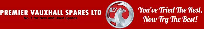 Premier Vauxhall Spares logo