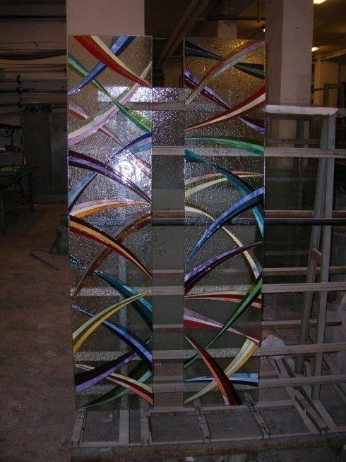 Decorazione di vetri