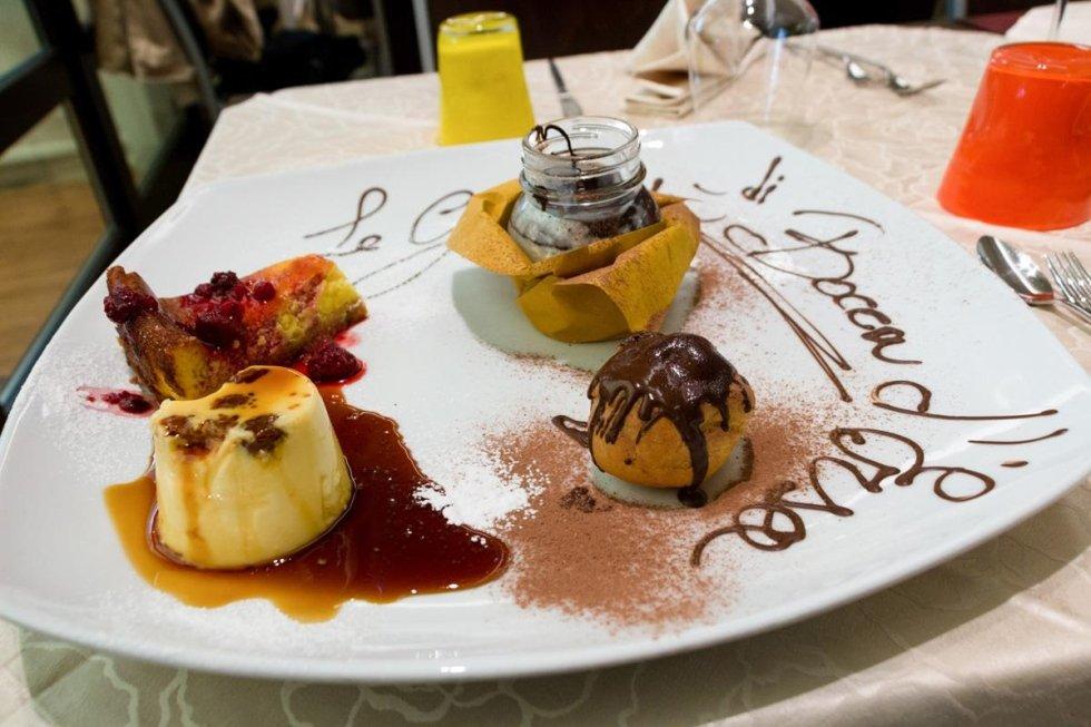 dessert della casa