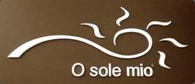 PIZZERIA O SOLE MIO - LOGO