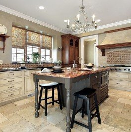 Cabinetry in a Kitchen - Wood Cabinets