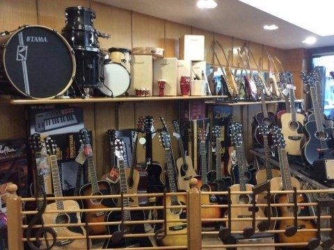 negozio prodotti musicali