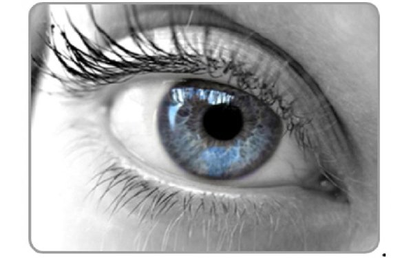 un occhio di una ragazza
