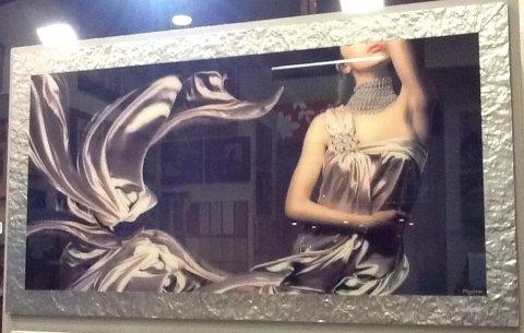 quadro stampato su vetro