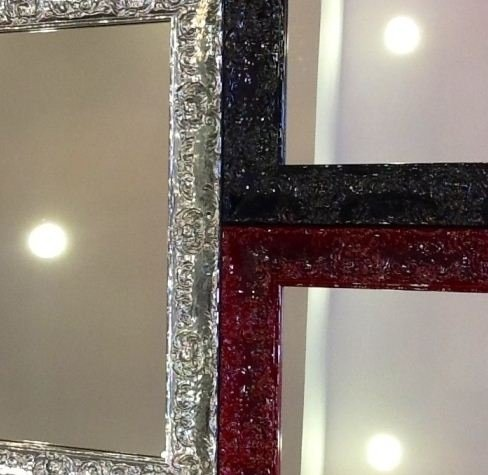 Specchio finitura luminosa