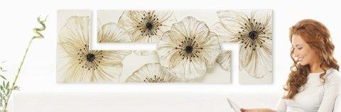 stampa su tela fiori