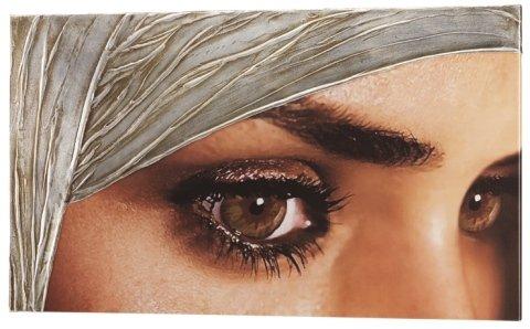 stampa su tela occhio