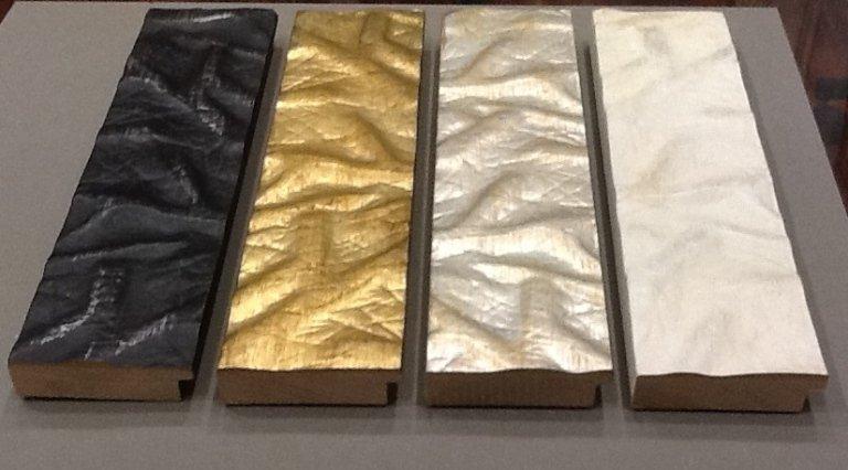 cornici legno argentata e dorata
