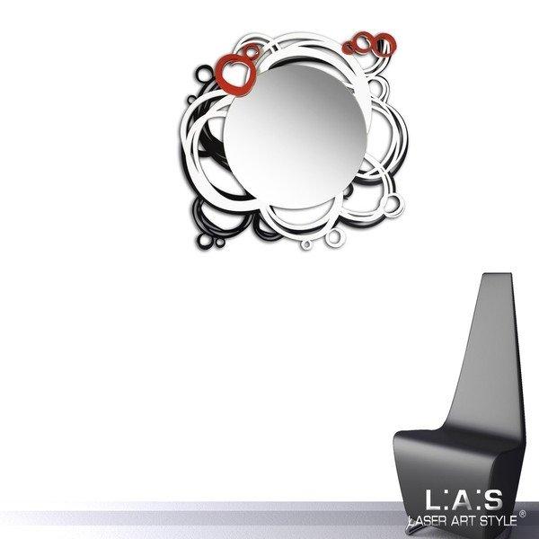 cornice e specchio totondo