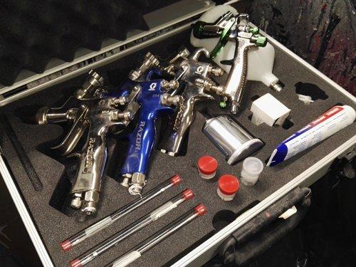 strumenti per verniciare