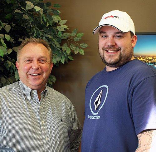 Dale Huber and Broc Brooks