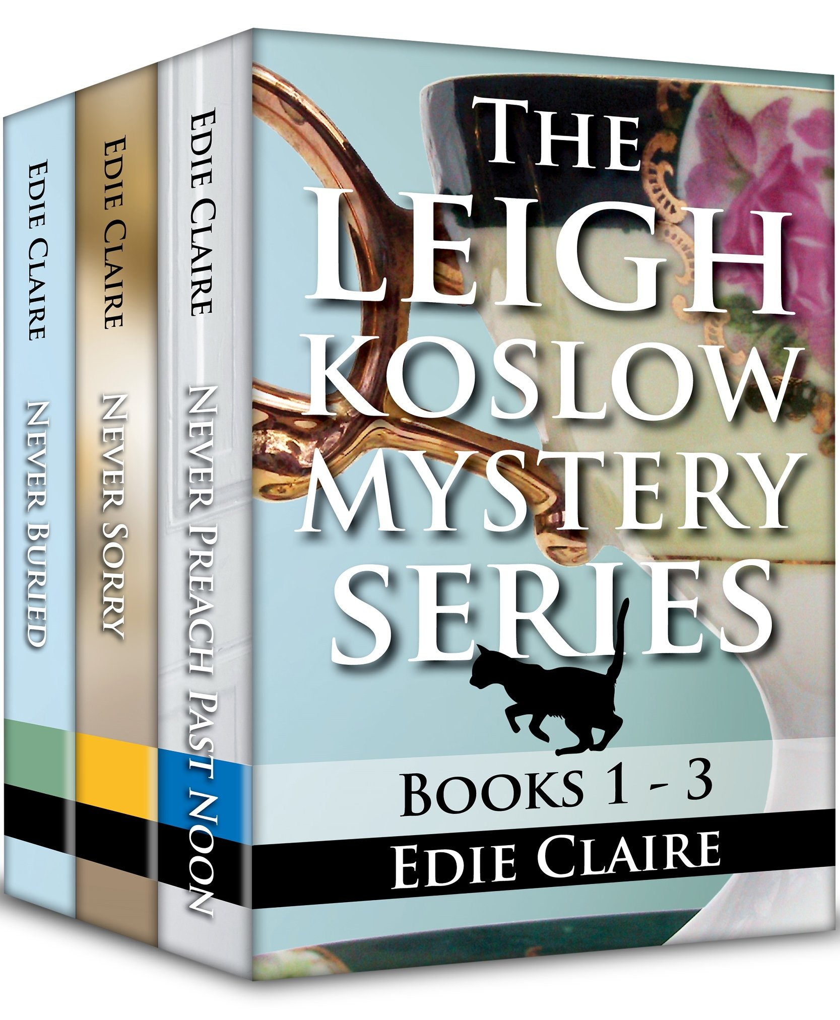 The Leigh Koslow Mystery Series Books 1-3 Cover