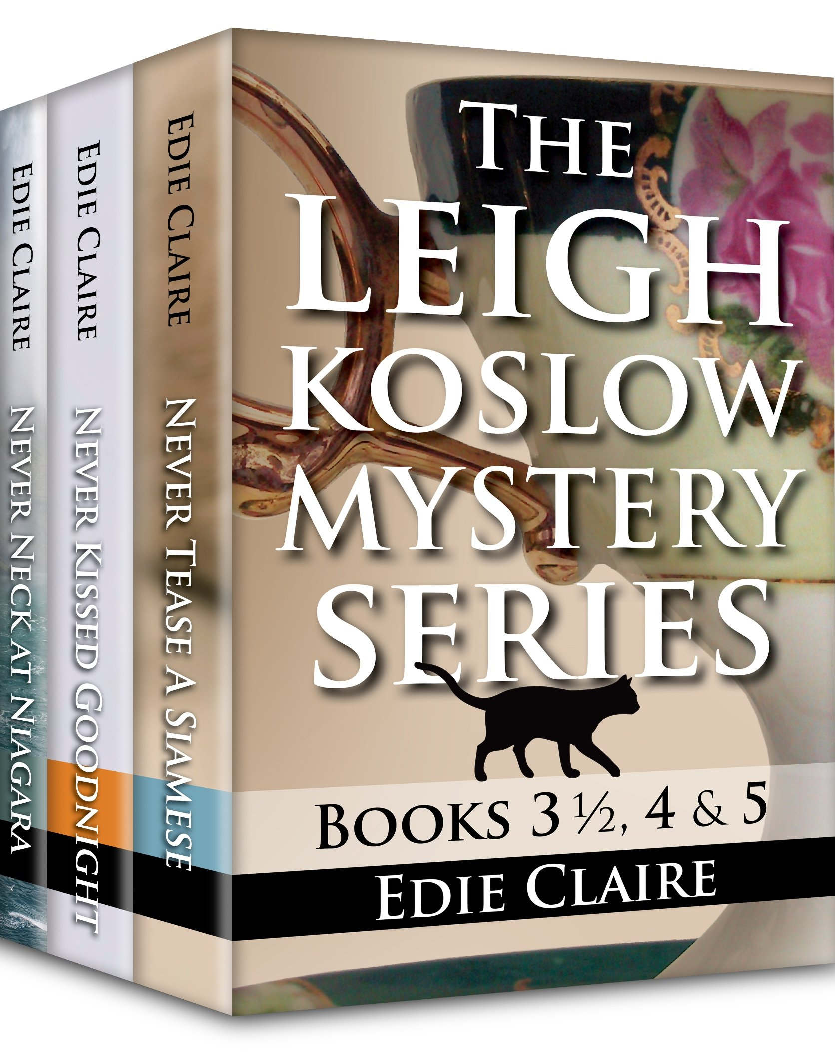 The Leigh Koslow Mystery Series Books 3 ½, 4 & 5 Cover