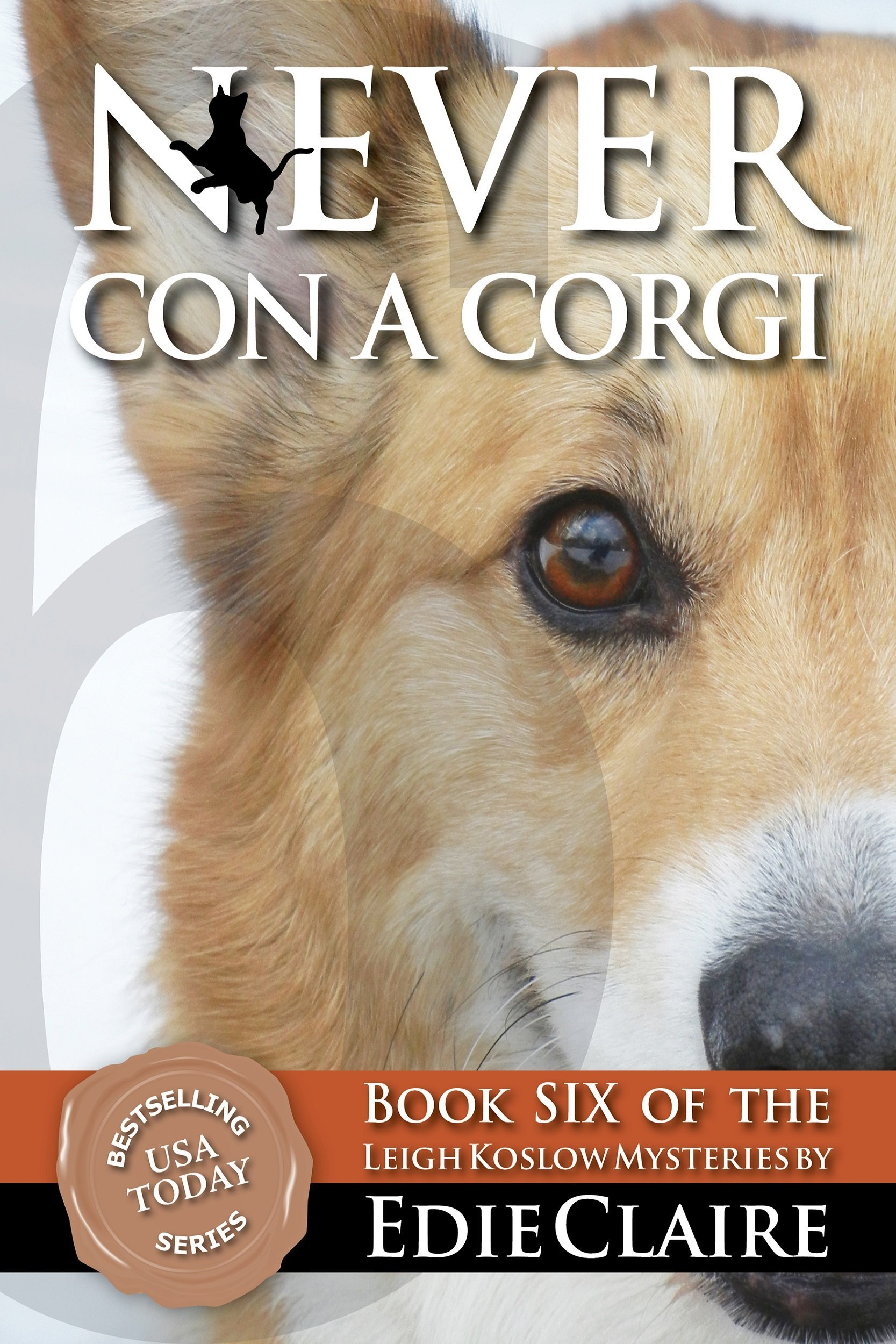 Never Con a Corgi Cover