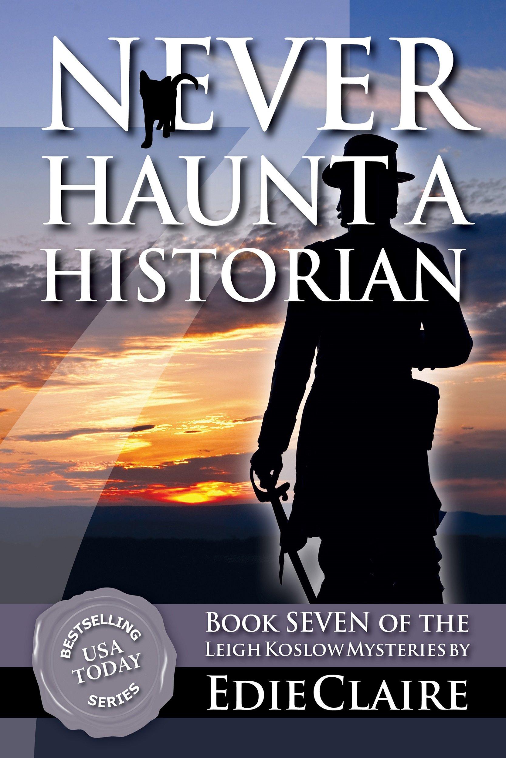 Never Haunt a Historian Cover