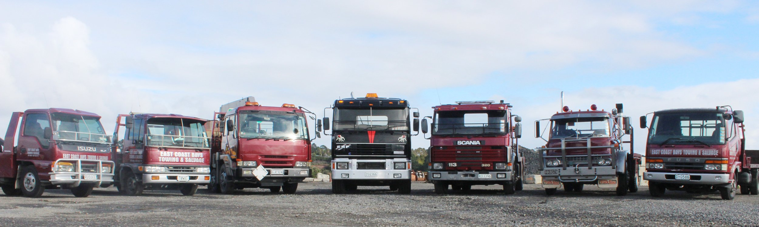 Towing vehicles used by the professionals
